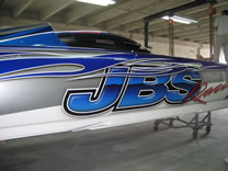 JBS Racing Paint Job