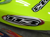 Miss Geico Racing Team Custom Paint